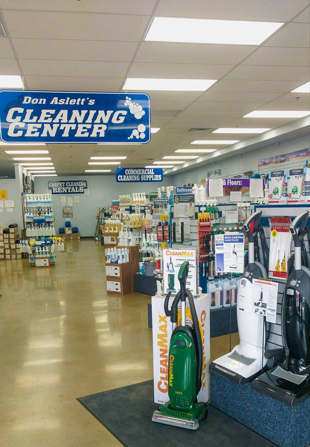 don asletts cleaning center boise idaho